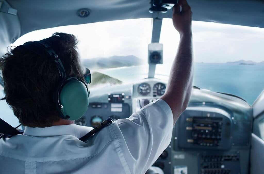 What are career options available as a pilot in India?