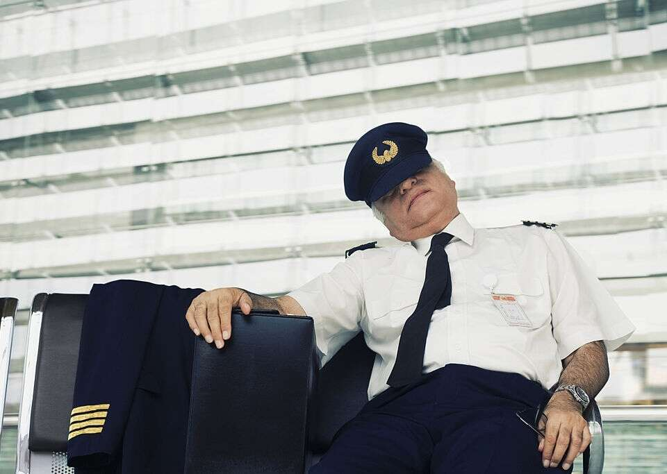 Controlled rest for pilots